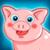 Funny Pig Feeding icon