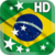 Brazil Flag LWP HD app for free