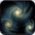 Star Galaxy 3D Live Wallpaper icon