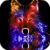 Colorful Wolf Live Wallpaper app for free