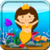 Puzzles with small fishes app for free