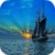 Sunset On The Boat Live Wallpaper app for free