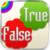True And False app for free