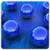 Galaxy S6 Blue Live Wallpaper icon