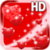 Red Hearts HD Live Wallpaper app for free