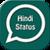 Hindi Whatsapp Status app for free