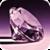 Purple Diamonds Live Wallpaper free icon