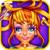 Crazy Halloween Hair Salon icon