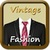 Vintage Man Fashion 1970 and 1980 icon