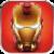 Superhero photo stickers icon