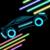 Neon cars-- icon