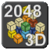 2048 3D icon