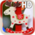 Funny Deer Live Wallpaper icon