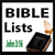 Bible Lists app for free