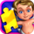 Kids Jigsaw Puzzles - puzzle icon