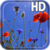 Poppies flowers LWP icon