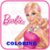 Barbie coloring 16 icon