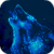 Blue Neon Wolf Live Wallpaper icon
