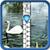 Swans Zipper Lock Screen app for free