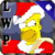 Simpson Christmas Water Effect LWP X app for free