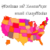 Quiz of States and Capitals for USA icon
