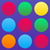 Balls in lines icon