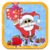 Santa Christmas Gift Shopping icon