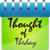 Thought for the Day 240x320 Non Touch icon