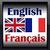 French-English icon