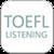 Simple TOEFL Listening app for free