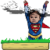 Baby Superman Jumper app for free