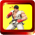 Championship of street fighting icon