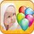Bang balloons icon