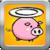 A Brave Flying Pig: Laser Gun Shooting Free app for free