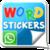 Word sticker Whatsapp app for free