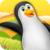Jungle Penguin Mega Jump Game icon