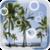 Beach Palms Live Wallpaper app for free