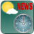 World News Time N Weather icon