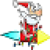 Santa Flash app for free