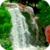 Waterfall And Roses Live Wallpaper icon