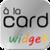 à la card Widget icon