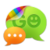 GO SMS Pro simple green theme icon