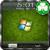 iPhone Window 7 Green iPhone GAG icon