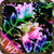 Flowers Coloured Crazy Glitter app for free
