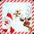 Christmas balls puzzle icon