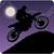 Dark Moto Race : Black Night Bike Racing Challenge icon