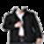 Man jacket photo suit app icon