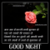 good night message - chat icon