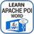Learn Apache POI Word app for free