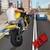 Flying Moto Racer 3d icon